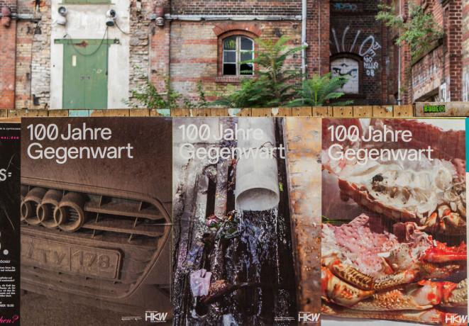 Plakataktion zu 100 Jahre Gegenwart mit Fotografien von Wolfgang Tillmans | Foto: Laura Fiorio