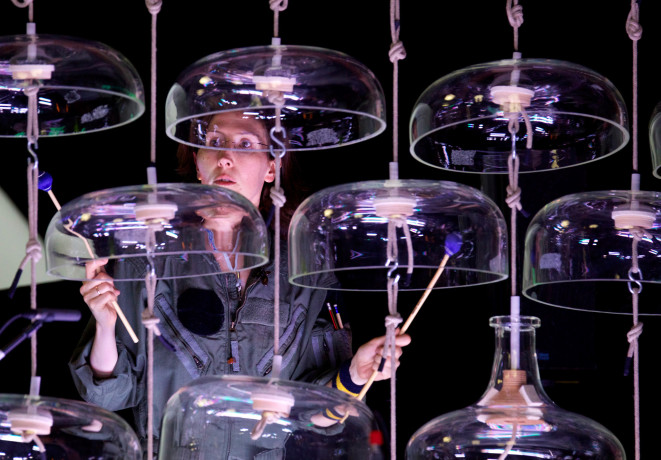 Ensemble Musikfabrik, Cloud Chamber Bowls  | Foto: Klaus Rudolph, Ensemble Musikfabrik
